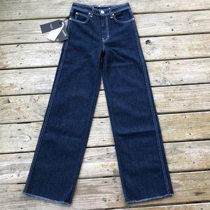 Rag & bone high waist wide leg jeans